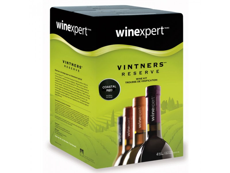 Coastal Red (Vintner's Reserve) Wine Kit