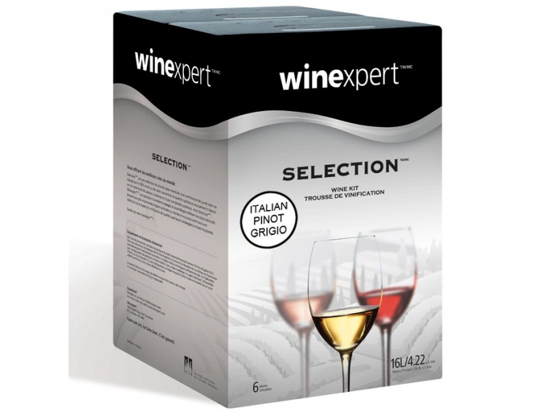 Italian Pinot Grigio (Winexpert Selection International) Wine Kit