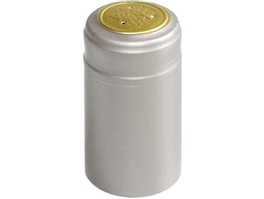 Silver PVC Shrink Capsules