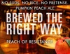Peach of Resistance Pumpkin Peach Ale - Beer Recipe Kit