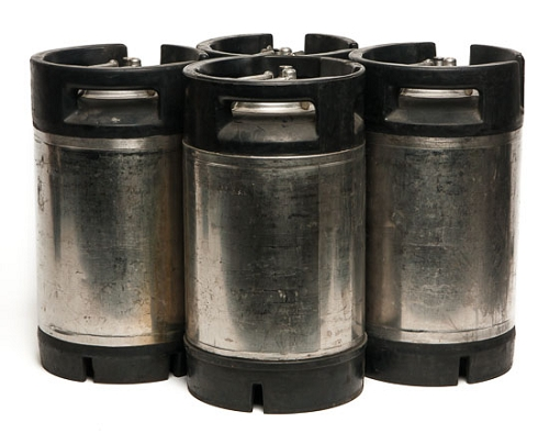 FOUR 3 Gallon Cornelius Style Pin Lock Used Kegs