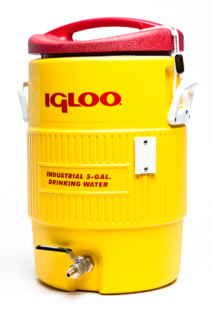 5 gallon Igloo cooler HLT