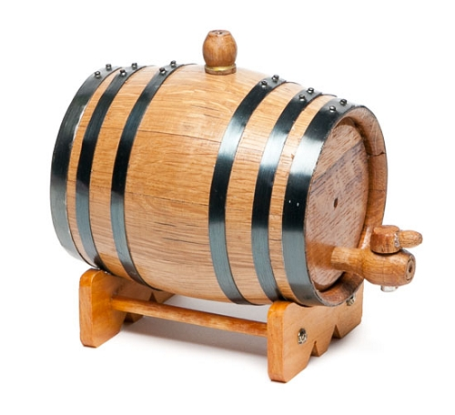 1 Liter Oak Barrel