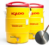 5 Gallon Converted Igloo Cooler Mash Tun with False Bottom and HLT