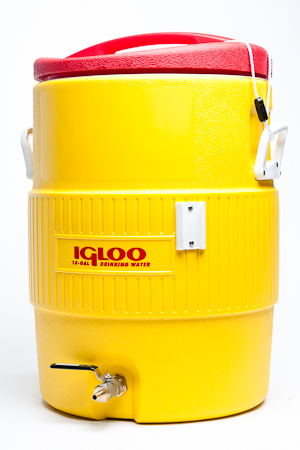 10 gallon Igloo cooler HLT