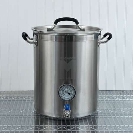 MegaPot 1.2 Brew Kettle (10 Gallon)