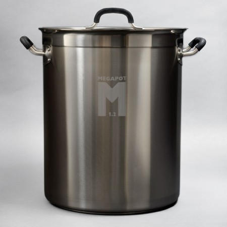 MegaPot 1.2 Undrilled Brew Kettle (30 Gallon)