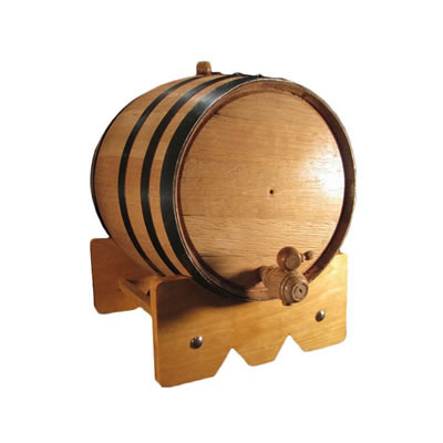 10 Liter Oak Barrel