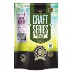 Mangrove Jack's British Series Strawberry & Pear Cider Pouch