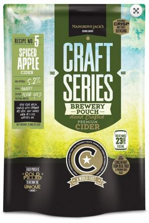 Mangrove Jack's British Series Spiced Apple Cider Pouch