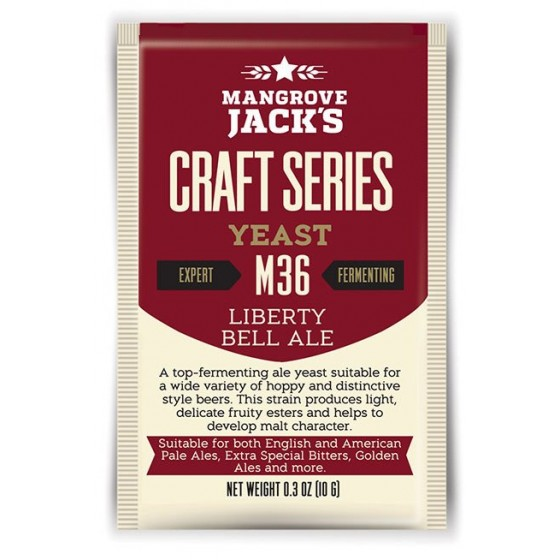 Mangrove Jack's Dry Liberty Bell Ale Yeast