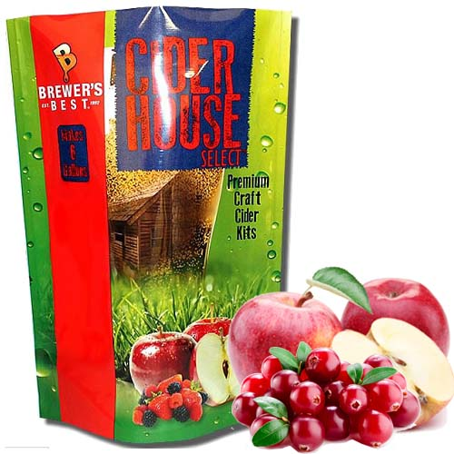 Cider House Select Cranberry Apple Cider Making Kit