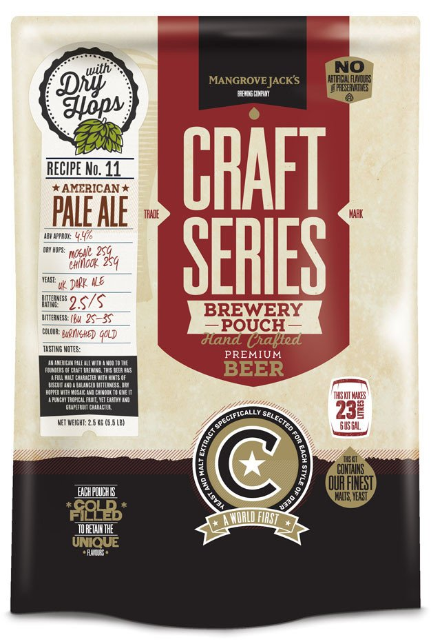 American Pale Ale with Dry Hops Brewery Pouch