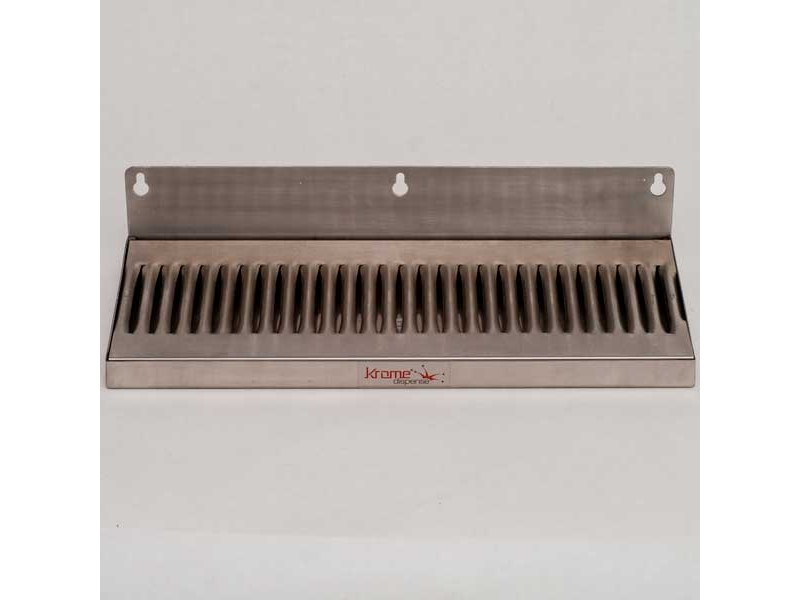 "Drip Tray - 14"" wide w/ 2"" backsplash"