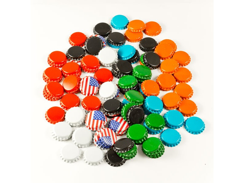 Fermenter's Favorites 120 Count Crown Beer Bottle Caps