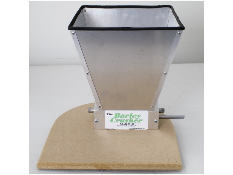 Barley Crusher w/ 7 lb.-capacity Hopper